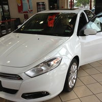 Photo taken at Nyle Maxwell Chrysler Dodge Jeep Ram Supercenter by Aaron H. on 5/28/2013