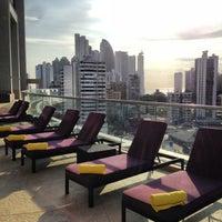 Photo taken at Hard Rock Hotel Panama Megapolis by Aina C. on 1/20/2013