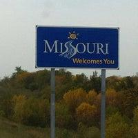 Photo taken at Missouri/Iowa State Line by Sue Miller P. on 10/1/2012