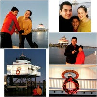 Photo taken at The Choptank River Lighthouse by Fernando F. on 12/25/2014