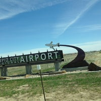Photo taken at Rapid City Regional Airport (RAP) by Karac R. on 5/4/2013