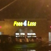 Photo taken at Food 4 Less by ALYSON D. on 10/20/2012
