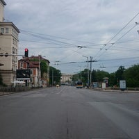 "Photo taken at Бул. ""Васил Левски"" by Дилян П. on 5/29/2014"