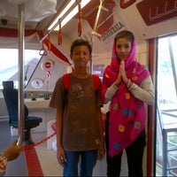 Photo taken at Monas Booth Indosat Jakarta Monorail by Mochamad H. on 2/12/2014