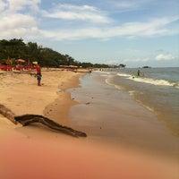 Photo taken at Praia do Chapéu Virado by Guilherme B. on 11/15/2012