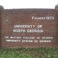 Photo taken at University of North Georgia by David B. on 1/27/2013
