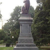Photo taken at Statue of Daniel Webster by Rob L. on 8/27/2013