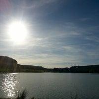 Photo taken at Étang de Beine by Angelo Calin P. on 3/9/2014