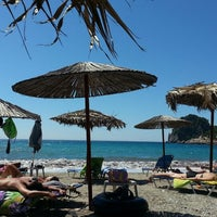 Photo taken at Ermones Beach by Νίκος Α. on 8/18/2014