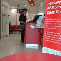 Photo taken at CIMB Bank by Asma K. on 1/22/2015