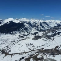 Photo taken at Paradise Bowl, Mt. Crested Butte by Michael P. on 4/3/2016