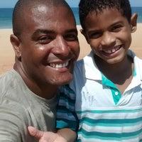 Photo taken at Praia Do Costa Azul by Lucyanno beta M. on 5/10/2014