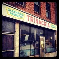 Photo taken at Trinacria Macaroni Works by Peter C. on 5/18/2013