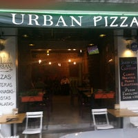 Photo taken at Urban Pizza by Carlos V. on 9/7/2013