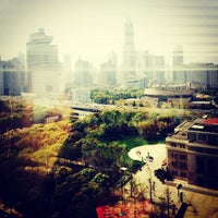 Photo taken at Golden Bell Plaza by Jia K. on 4/4/2014