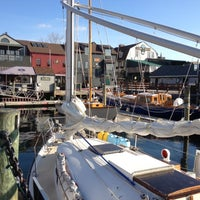 Photo taken at Bowen's Wharf by Daddy F. on 12/3/2012