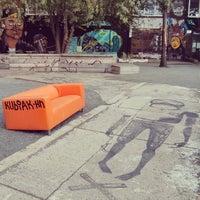 Das Foto wurde bei Urban Spree von Jean-Francois L. am 9/20/2013 aufgenommen