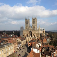Photo taken at Lincoln Castle by Liss on 4/6/2015