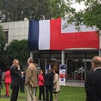 Photo taken at Ambasada Republiki Francuskiej by Agnieszka J. on 7/14/2016