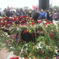 "Photo taken at Memorial Complex ""Eternity"" by Yevgen P. on 5/9/2014"