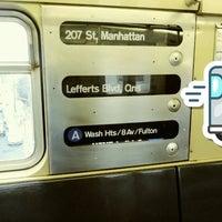 Photo taken at MTA Subway - Ozone Park/Lefferts Blvd (A) by Alexander M. on 7/14/2017