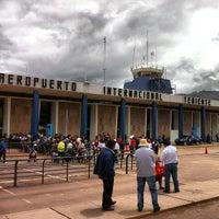 Photo taken at Alejandro Velasco Astete International Airport (CUZ) by Juan V. on 2/6/2013