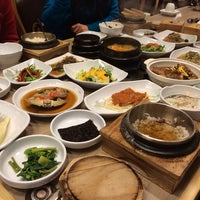 Photo taken at 청송한우 by Sheerah on 2/28/2014