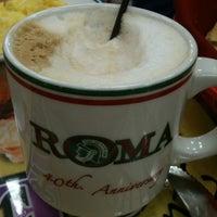 Photo taken at La Roma Bakery by Amy B. on 11/4/2012