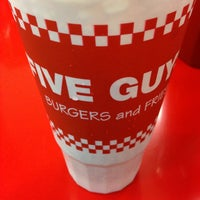 Photo taken at Five Guys by Nicole K. on 8/10/2014
