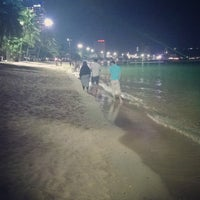 Photo taken at Pattaya Beach Front by kirana r. on 7/25/2015