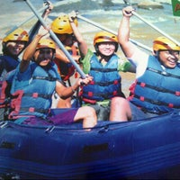 Photo taken at Caldera Rafting and Outbond by AZ F. on 9/14/2013