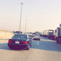 Photo taken at abu hadrya high way by Hamad.A.M on 9/16/2015