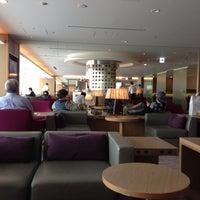 Photo taken at JAL Sakura Lounge - International Terminal by Bill A. on 5/27/2013