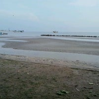 Photo taken at Dampo Awang Beach by Ratri W. on 11/12/2012