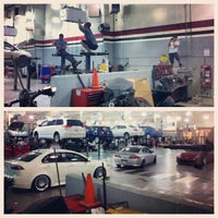 Photo taken at Fred Haas Toyota World by Chan L. on 1/30/2013