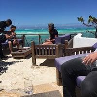 Photo taken at The Rock Restaurant Zanzibar by Mia on 8/17/2016