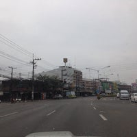 Photo taken at แยก ป้ายทันใจ by Chansawat C. on 2/20/2014