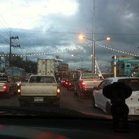 Photo taken at แยก ป้ายทันใจ by Chansawat C. on 11/17/2012