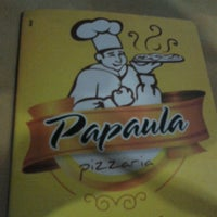 Photo taken at Papaula Pizzaria by Alexandre D. on 5/30/2013