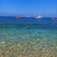 Photo taken at Oris Beach by Göksel K. on 8/6/2018