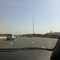 Photo taken at Sheikh Mohammed Bin Zayed Rd by Marvey M. on 4/12/2013