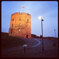 Photo taken at Gediminas' Tower of the Upper Castle by Konstantin P. on 11/24/2012