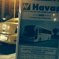 Photo taken at Havaş Ege Park İstasyonu by 103372 -. on 10/21/2015
