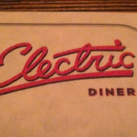 Photo taken at Electric Diner by Thomas G. on 1/19/2013