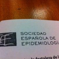 Photo taken at Facultade de Medicina by Esteve F. on 1/21/2013