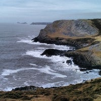 Photo taken at Worm's Head by David B. on 3/5/2014