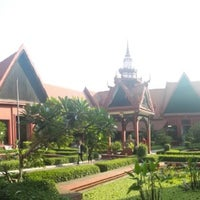 Photo taken at National Museum, Phnom Penh by Neil N. on 4/28/2014