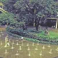 Photo taken at Fairview Terraces Central Garden by Blaise Alain V. on 9/10/2014