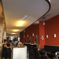 Photo taken at Café TeeVee by Chris N. on 8/14/2017