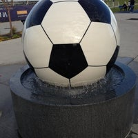 Photo taken at Overland Park Soccer Complex by Todd M. on 11/10/2012